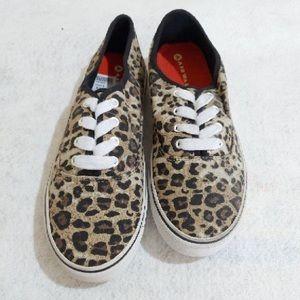 AIRWALK | Cheetah Canvas Running Shoes